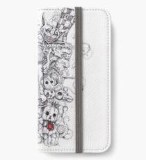 wonderland shattered iPhone Wallet/Case/Skin