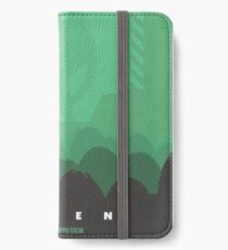 Ridley Scott's Alien Print Sigourney Weaver as Ripley iPhone Wallet/Case/Skin