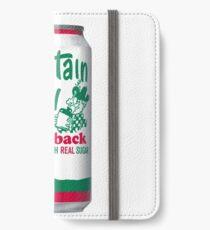 Mountain Dew Throwback  iPhone Flip-Case/Hülle/Skin