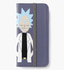 Evil Rick and Morty [PLAIN] iPhone Wallet/Case/Skin