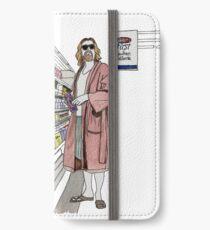 Jeffrey Lebowski and Milk. AKA, the Dude. iPhone Wallet/Case/Skin