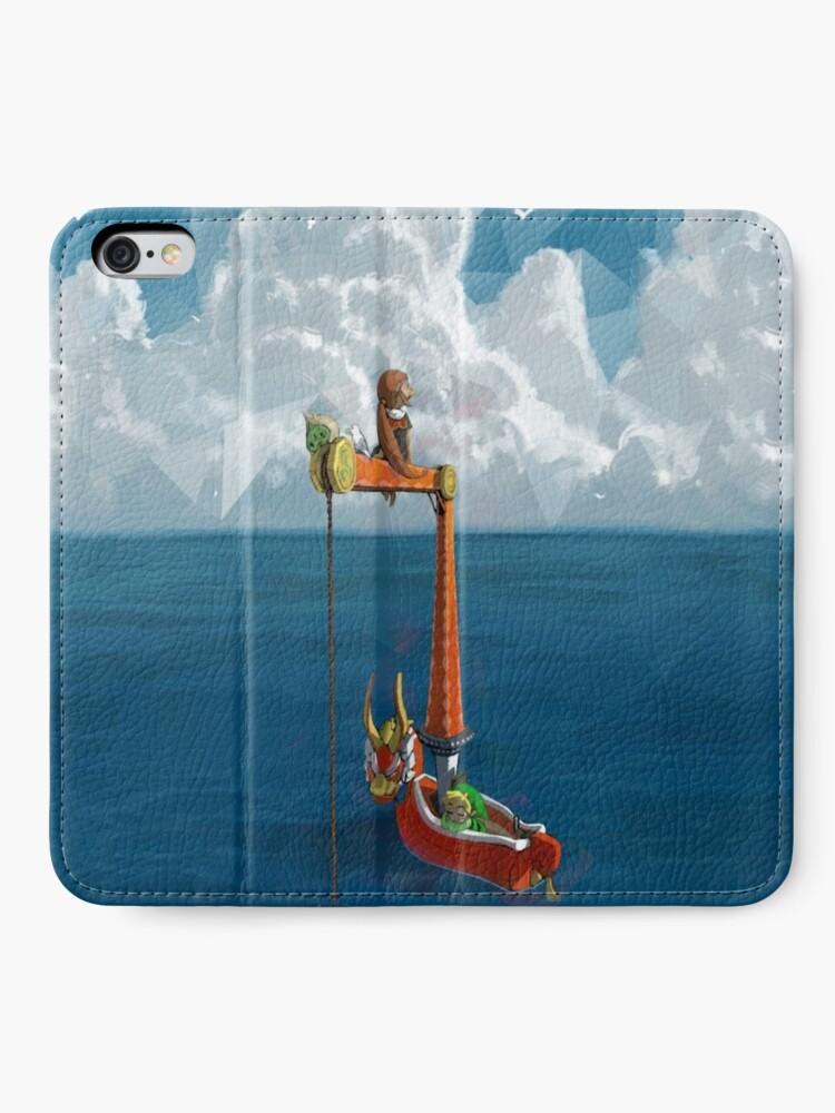 Wind Waker Lone Ocean iphone case