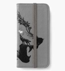 Lone Wolf iPhone Wallet/Case/Skin