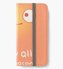 May All Your Bacon Burn iPhone Flip-Case/Hülle/Klebefolie