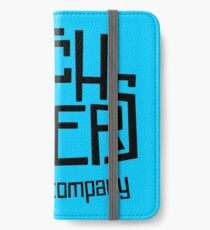 Hitchhikers Improv (Retro Black) iPhone Wallet/Case/Skin