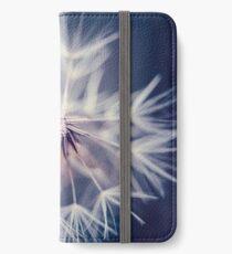 Dandelion Blue iPhone Wallet/Case/Skin