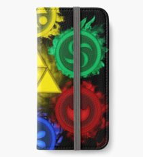 Legend of Zelda - Ocarina of Time - The 6 Sages iPhone Wallet/Case/Skin