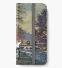 Approaching the Finch Line iPhone Wallet/Case/Skin
