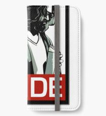 Jeff Lebowski (the dude) abides - the big lebowski iPhone Wallet/Case/Skin
