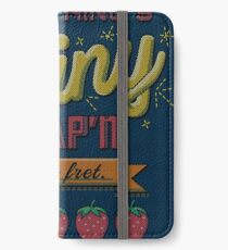 Kaylee's Embroidery iPhone Wallet/Case/Skin