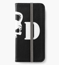 WOD Kettlebell Skull White iPhone Wallet/Case/Skin