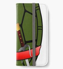 TMNT Raphael Shell Case iPhone Wallet/Case/Skin