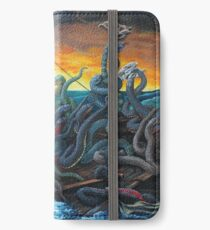 Raft of Reptile Rescue after Gericault iPhone Wallet/Case/Skin