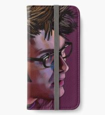 David Tennant - Sketchy Portrait 2 iPhone Wallet/Case/Skin