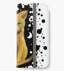 Vinilo o funda para iPhone FireHeart Cat