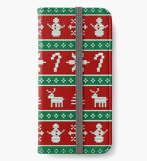 Ugly Christmas Sweater iPhone Wallet/Case/Skin