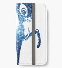 Space Bambi | Blue Cluster Galaxy iPhone Wallet/Case/Skin