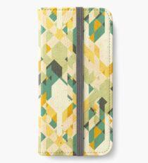 des-integrated tartan pattern iPhone Wallet/Case/Skin
