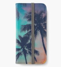 Hawaii Palm Trees At Sunset iPhone Wallet/Case/Skin