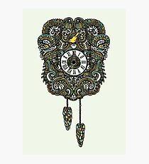 Cuckoo Clock Nest Photographic Print