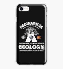 economy ecologist iPhone Case/Skin