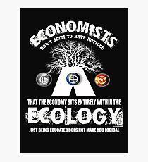 economy ecologist Photographic Print