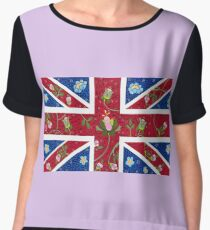God Save The Queen Women's Chiffon Top