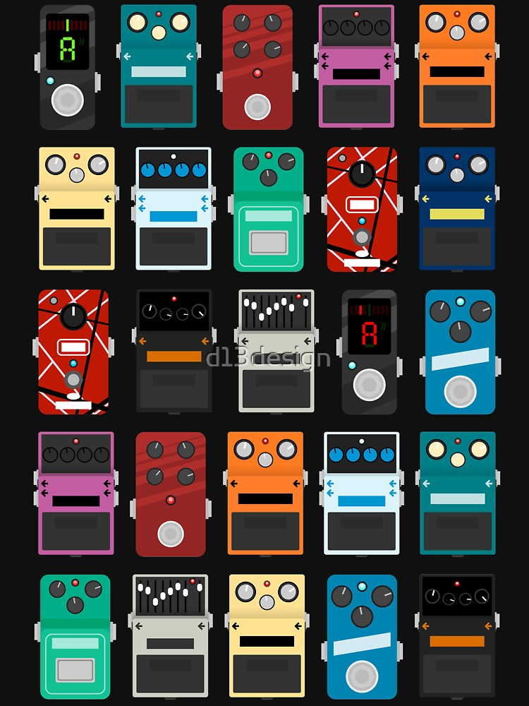 Pedal Board by d13design
