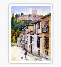 Calle Victoria, Granada Sticker