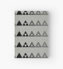 Sierpinski, Triangle, Mathematics, Fractal, Math, Geometry Hardcover Journal