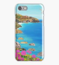 Path to The Lizard Lighthouse iPhone Case/Skin