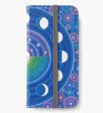 Vinilo o funda para iPhone Moon Phase Mandala