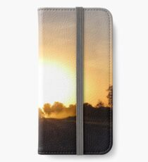 Grid Road Sunset iPhone Wallet/Case/Skin