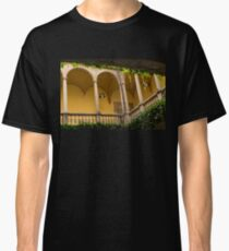 Secret Mediterranean Life - Peaceful, Cozy Courtyard in Barcelona Classic T-Shirt