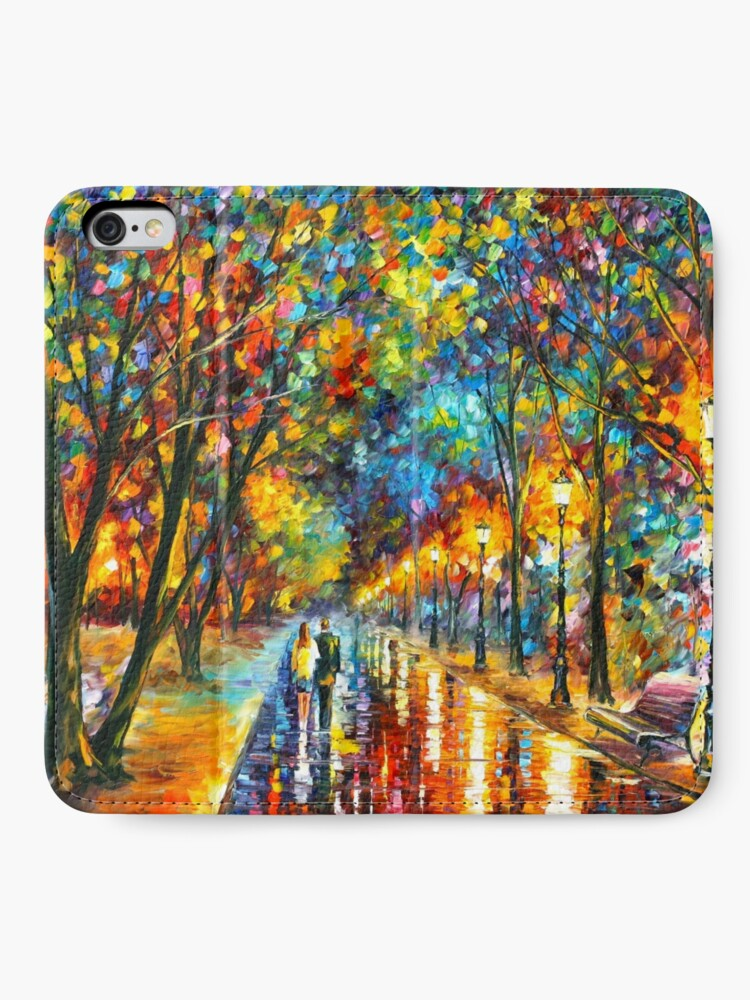 Alternate view of WHEN THE DREMS CAME TRUE - Leonid Afremov iPhone Wallet