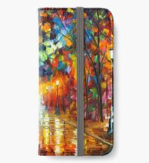 FAREWELL TO ANGER - Leonid Afremov iPhone Wallet/Case/Skin