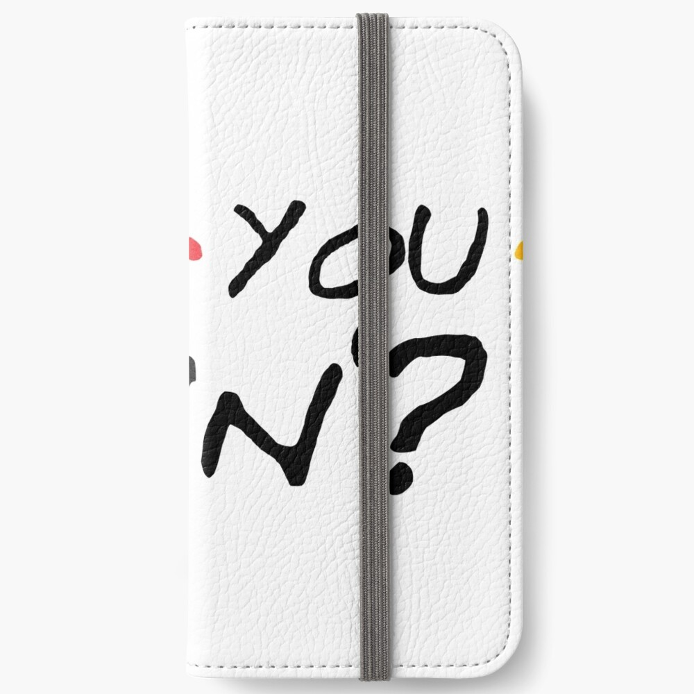 How You Doin'? iPhone Wallet