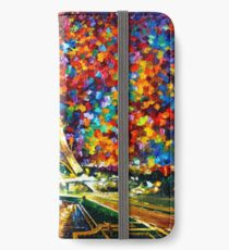 paris of my dreams - Leonid Afremov iPhone Wallet/Case/Skin