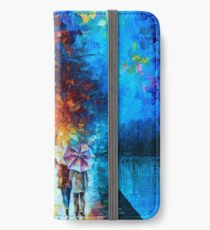 Love by The Lake - Leonid Afremov iPhone Wallet/Case/Skin