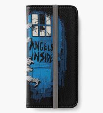 The walking Angels iPhone Wallet/Case/Skin