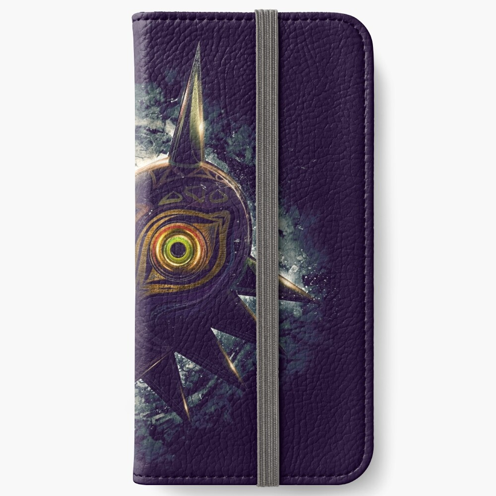 The Epic Evil of Majora's Mask iPhone Wallet