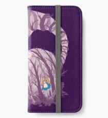 Inside wonderland (cheshire cat) iPhone Wallet/Case/Skin