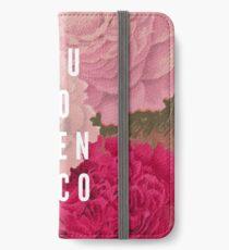 Sie gehen Glen Coco iPhone Flip-Case/Hülle/Skin