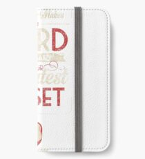 Whatever Makes You Weird iPhone Wallet/Case/Skin