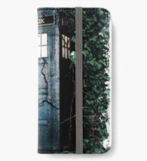 Police Box in The Garden Hoodie / T-shirt iPhone Wallet/Case/Skin