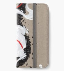 WHITE FOX RIBBONS  iPhone Wallet/Case/Skin