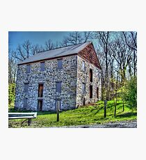 Old Stone Structure Photographic Print