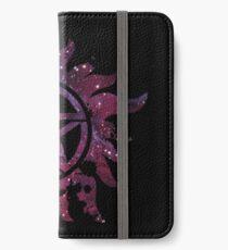 Supernatural Anti-Possession Galaxy Print iPhone Wallet/Case/Skin