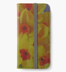 Spring Fever Year-Round, Narcissus iPhone Wallet/Case/Skin