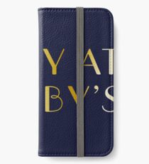 Party at Gatsby's iPhone Wallet/Case/Skin